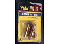 Yale - 2 Door Security Bolts