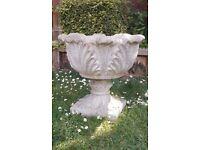 Concrete Garden Urn - Pot
