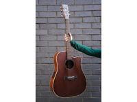 Ibanez Electro-Acoustic Guitar + Padded Gig Bag for sale  Tower Bridge, London