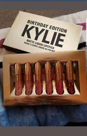 Kylie birthday edition and lip stick kit