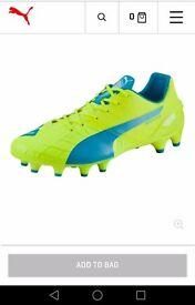 Brand New in box Puma Evo speed 1.4 football boots size 10 RRP £140