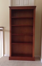 Reproduction cherrywood bookcase