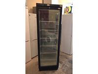 VALERA Cooler UFSC370G Glass Door Tall Freezer with 3 Month Warranty