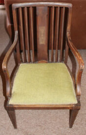 Early 20th Century Elbow Chair