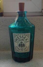 Wessex Gin Bottle Light - Blue