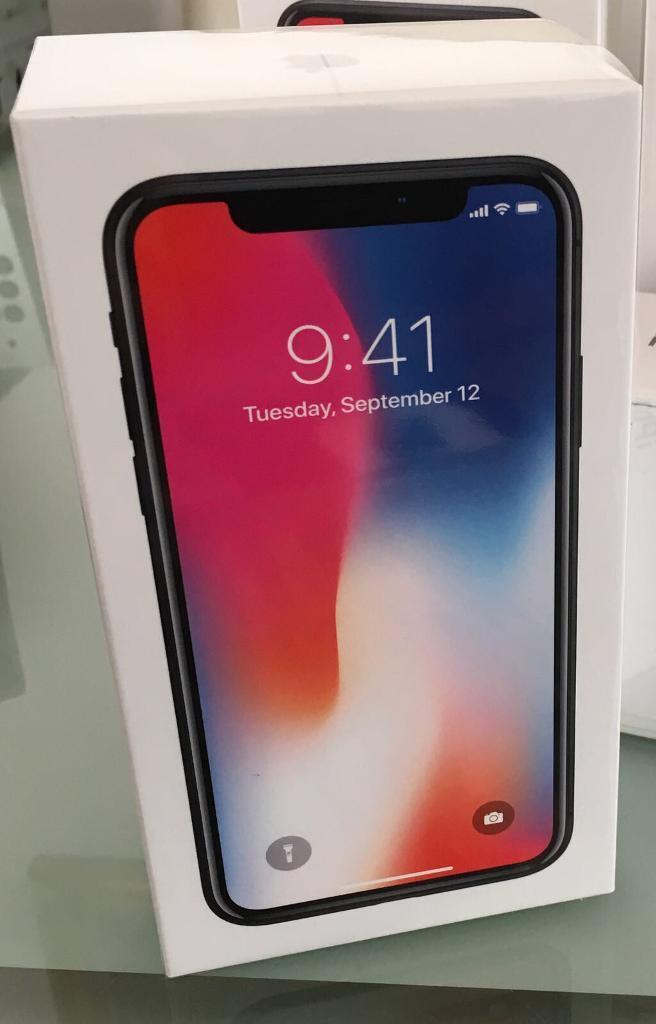 Iphone X Space Grey 256GB Unlocked **Brand New**
