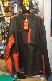 Scruffs hardwear waterproof jacket, new, size large