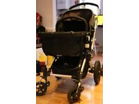 Bugaboo Cameleon Limited edition - Denim Navy with footmuff and acc (new set of fabric included)