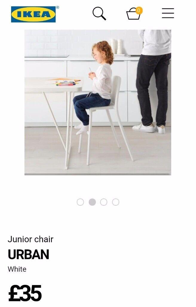 IKEA urban toddler junior booster seat chair