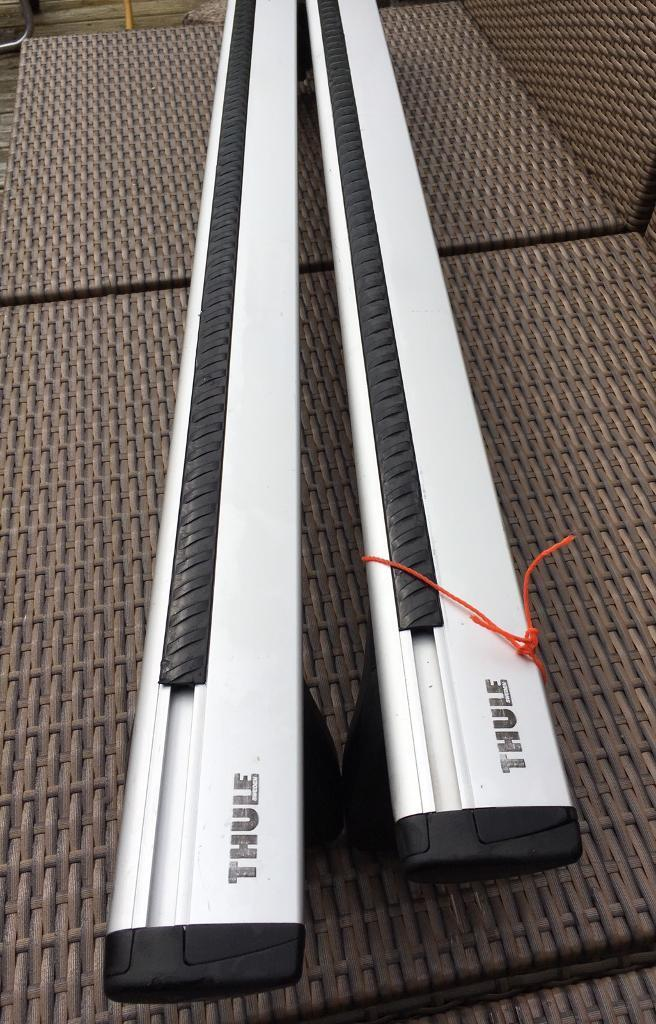 Thule silent wing bars for Corsa D series