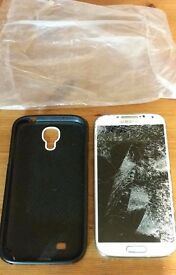 Samsung s4 Cracked screen (But phone works)