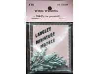 Langley Miniature Models OO Gauge - F74 White Wedding 1940's to present