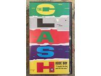 The Clash Rude Boy vhs Video Tape punk