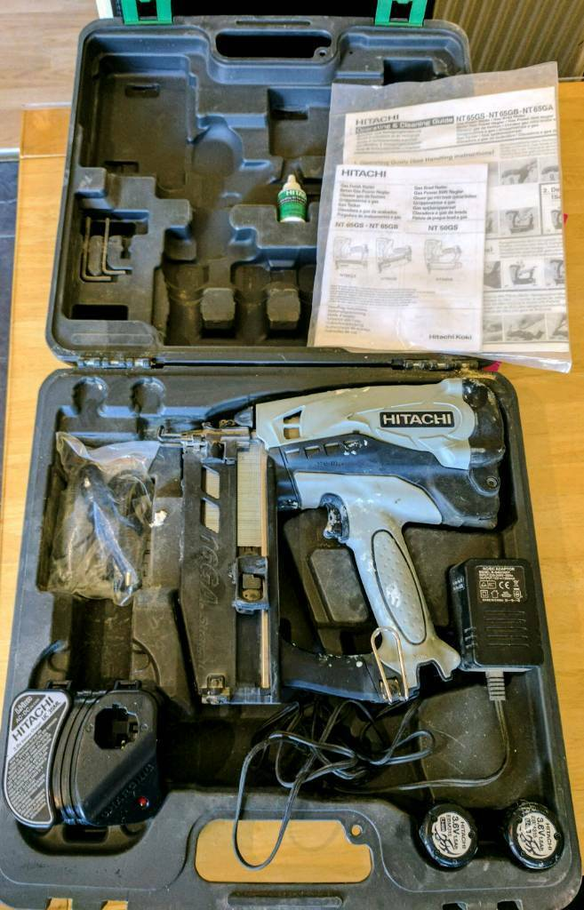 hitachi 2nd fix nail gun. hitachi 2nd fix nail gun spares or repairs i