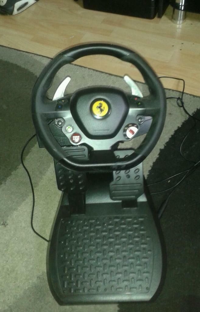 Ferrari Xbox360 steering wheel