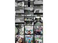 xbox 360s 250GB VGC wireless controller, Minecraft, AssassinsCreed, StreetFighter