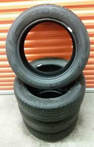 (E89) 4 Pneus Ete - 4 Summer Tires 215-55-17 Goodyear
