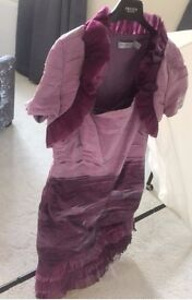 Mireia by Presen mother of the bride dress and bolero- £250- Size 16