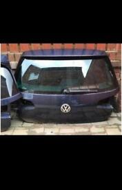 Volkswagen Golf MK7 Boot-lid. Tdi, Gti, GTD, Bluemotion.