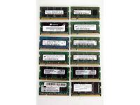 Laptop Memory DDR3, DDR2 (204pin, 200pin, Desktop PC, Apple Mac, Various, PC, Laptop, Dell, Ram, Kit
