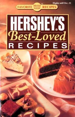 Hershey's Best-Loved Recipes Cookbooklet Cookies Cakes Brownies Candy