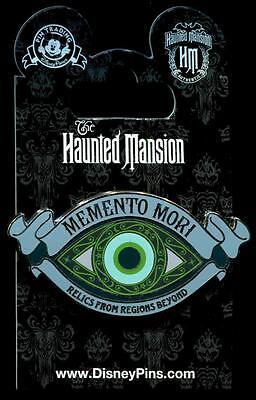 WDW Haunted Mansion Memento Mori Sign Disney Pin 111798