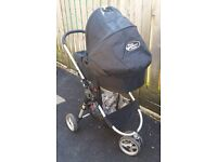 Baby Jogger City Mini Pram / Buggy / Pushchair with Deluxe Carrycot. Great Condition!