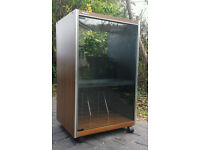 IN AS NEW CONDITION - Panasonic Vintage HiFi Audio Rack Display Cabinet