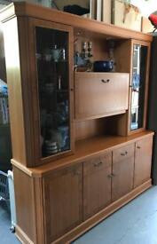 Display dresser cabinet & TV cabinet