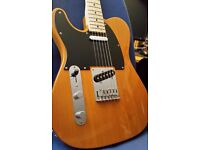 "Fender Squier Telecaster. ""LEFTY"""