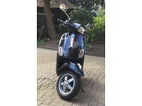PIAGGIO VESPA S50 - BLACK 2011 50cc Moped
