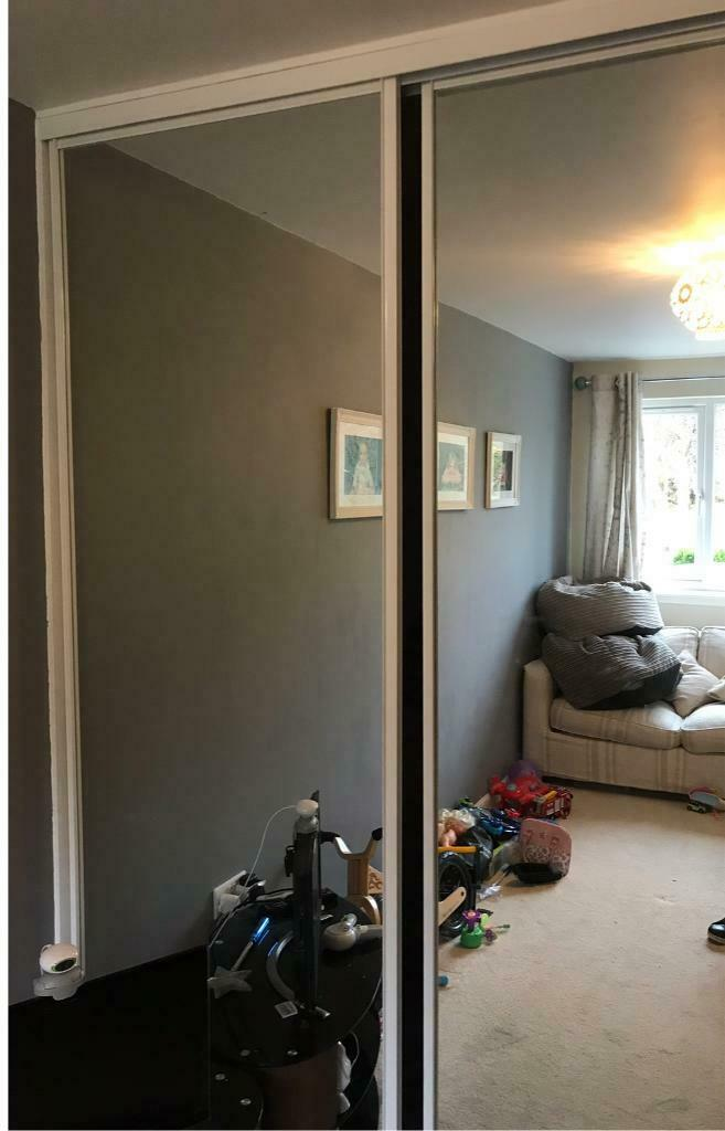 quality design e6d9a f0c45 Mirror slide robe doors x 3 | in Linlithgow, West Lothian | Gumtree