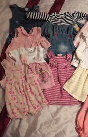 Newborn/first size girl bundle