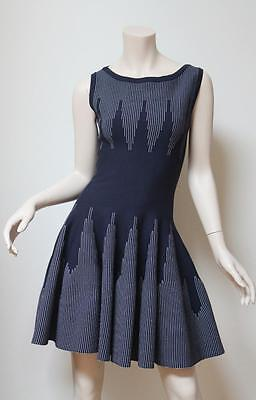 New  3175 Alaia Paris Runway Knit Size 40 Dress