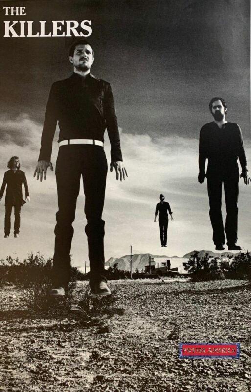 The Killers Rare Levitation 2006 Rock Poster 22 x 34.5