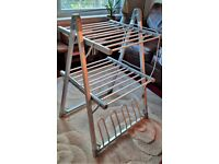 John Lewis 2-Tier Heated Indoor Clothes Airer, perfect condition