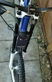 Downhill mountain bike