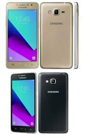 Brand New Unlocked Samsung Galaxy J2 Prime Duos(Dual Sim) 8gb Black Gold And White Colour
