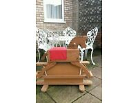 wooden rocking horse ideal for painting and restoring for nursery