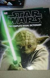 Star Wars hardback Visual Dictionary