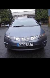 Honda Civic 1.4 2006 low mileage with full service history 5dr/petrol/hatchback