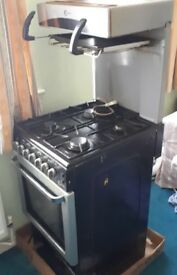 Flavel 50cm Cooker with Grill and Oven
