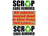 *Scrap cars wanted*