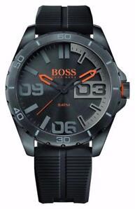 Hugo Boss 1513452 Berlin Black Strap Mens Watch