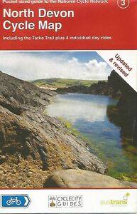 NORTH DEVON CYCLE Map - UPDATED & REVISED - SUSTRANS  - 2016