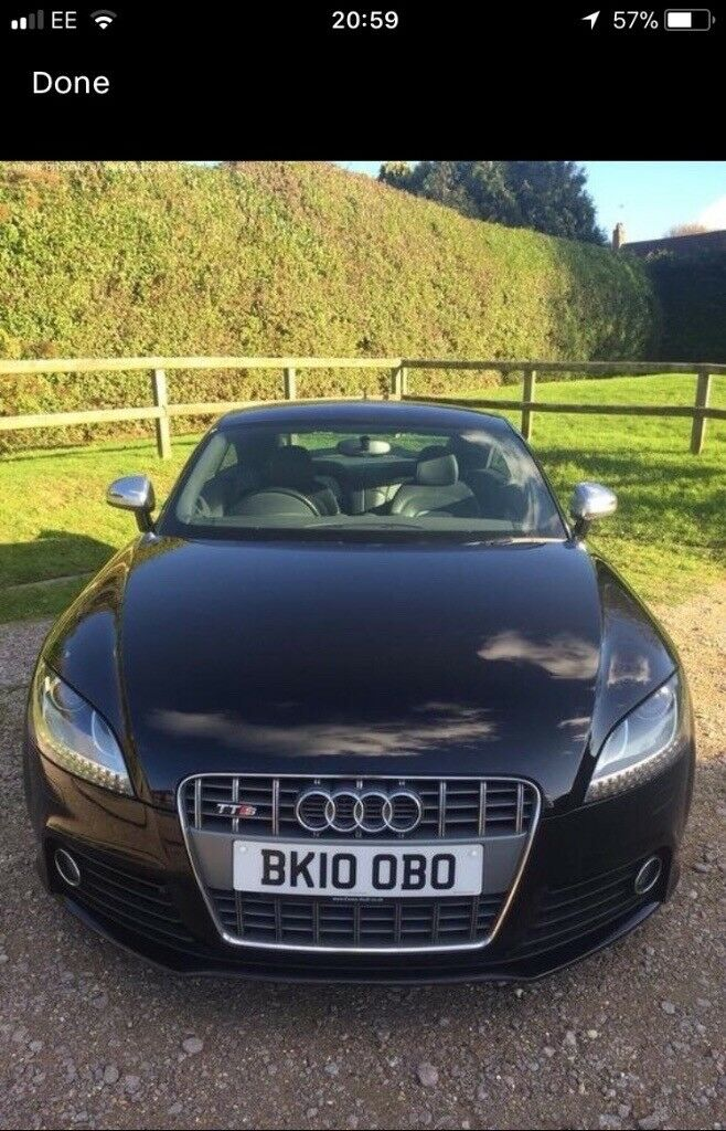 AUDI TTS 2010 FULLY LOADED S TRONIC REDUCED