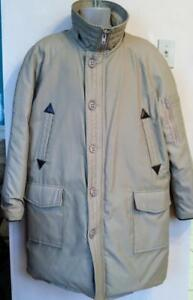 MENS PARKA XL 46  Made in Canada RETRO SIMPSONS Down Vintage Deadstock Winter Coat NO HOOD Oakville Warm Jacket Arctic