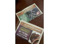 2 x Adult Chessington World of Adventures - absolute bargain and genuine