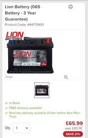 065 car battery