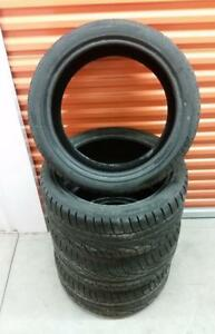 (H182) Pneus Hiver - Winter Tires 245-40-18 Pirelli